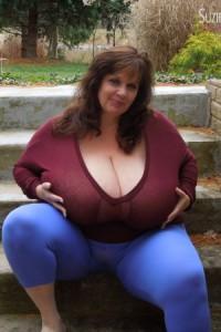 SHARON: Huge plump women